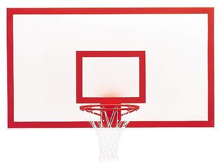 Ring Basket Procourt Fiberglass Sba006 B 39 x 54 fan shaped solid fiberglass basketball backboard from gared gar 1301b backboards