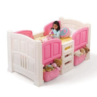 step 2 twin bed step 2 girl s loft storage twin bed baby toddler