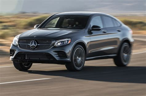mercedes jeep 2018 mercedes glc coupe 2018 motor trend suv of the year