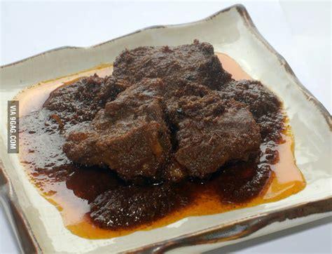 delicious food   world beef rendang gag