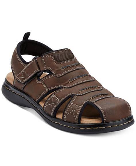 mens fisherman sandals closed toe dockers s searose closed toe fisherman sandals all