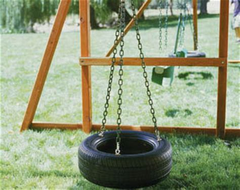 make your own tire swing diy tire swing gearfuse