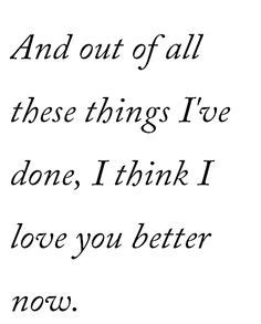i you better now ed sheeran for you