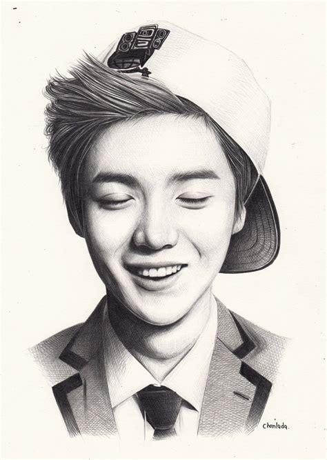 sketch book exo exo luhan by denitsed deviantart on deviantart