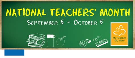 theme for education month 2013 2013 national teachers month and world teacher s day