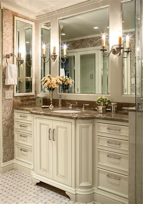 bathroom cabinet ideas design san franacisco nob hill highrise traditional bathroom