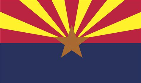 state colors state flag arizona state library