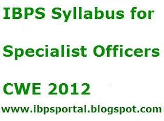 Government For Mba In Hr by Provide Detailed Syllabus Of Ibps Special Officer In Hr