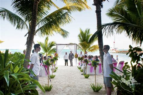 belize san pedro wedding pretty in pink and it s not who you think belize