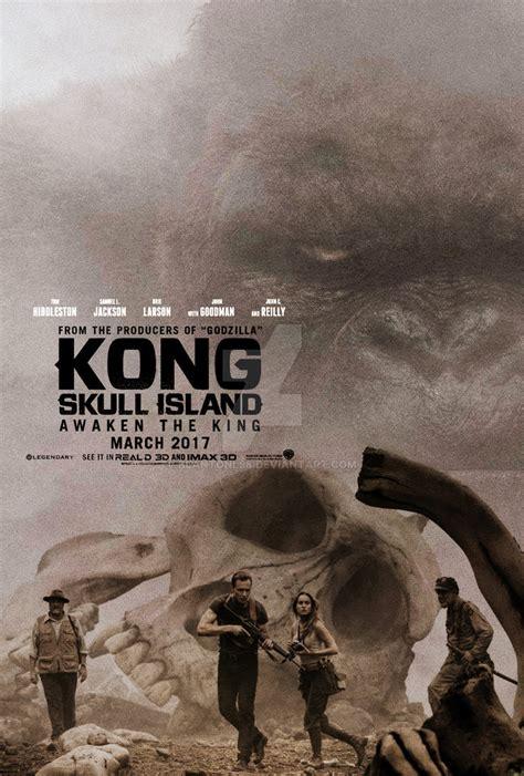 film online kong skull island kong skull island movie poster by blantonl98 on deviantart