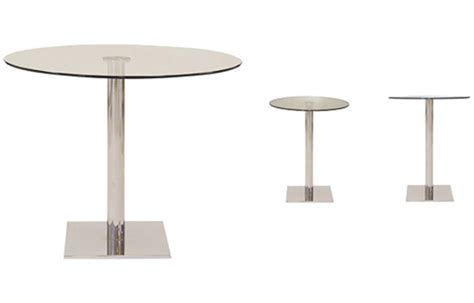 Square L Base by Square Base Tables Viesso