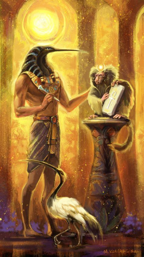 art deities and goddesses on pinterest thoth by sans art deviantart com on deviantart depicted