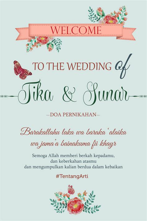 desain undangan pernikahan single board the wedding journal desain undangan dan wedding