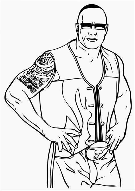 roman reigns coloring pages many interesting cliparts