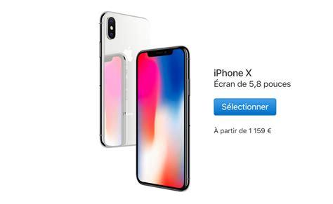 l iphone x sera vendu 1159 en belgique belgium iphone