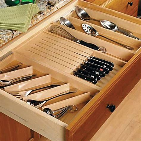 Wooden Drawer Inserts by Rev A Shelf Hafele Knape Vogt Omega National Products