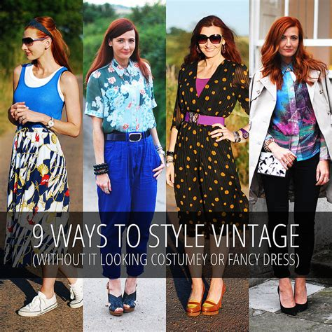 9 Tips On How To Dress On A Plane by 9 Ways To Style Vintage Without It Looking Costumey Or