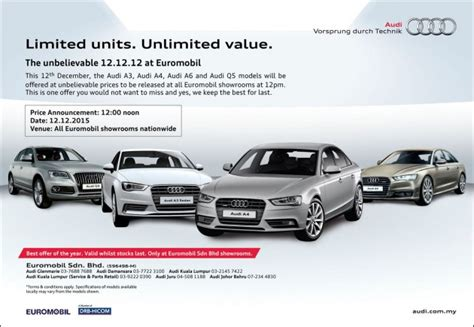 audi a3 ad ad the 12 12 12 at euromobil