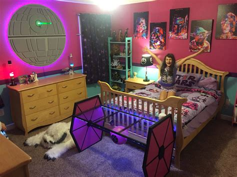 fandom themed bedroom fully operational fandom emmie s ultimate star wars