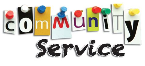 can i my to be a service community service giving back to the community