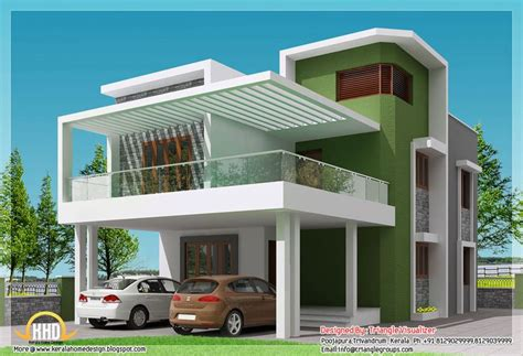 Exterior Home Design For Small House In India Simple Modern Home Square Bedroom Contemporary Kerala