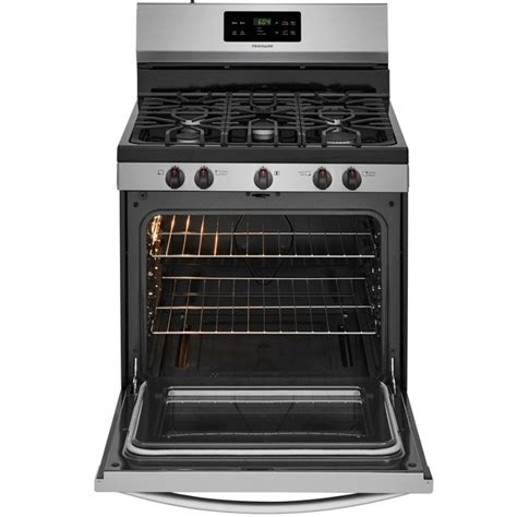 frigidaire 5 burner gas cooktop frigidaire lfgf3054tf 5 burner freestanding 5 cu ft self