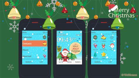 nokia c3 christmas themes christmas theme 202 203 300 303 nokia x3 02 c3 01 c2 02 c2