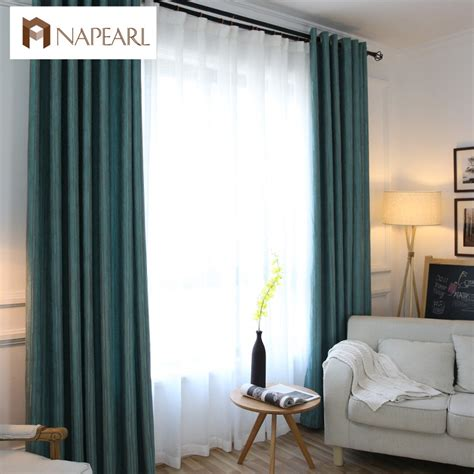 short curtains for living room blackout curtains modern luxury chenille living room