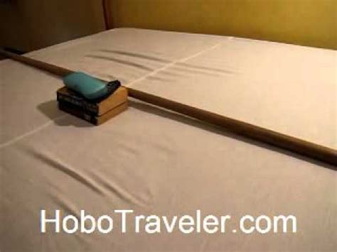 Saggy Solutions by Travel Tip Solution To A Sagging Mattress In Hotel Room
