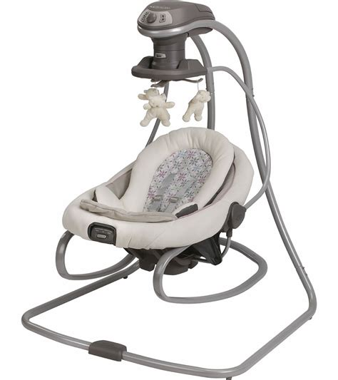 swing and rocker graco duetsoothe swing rocker kendra