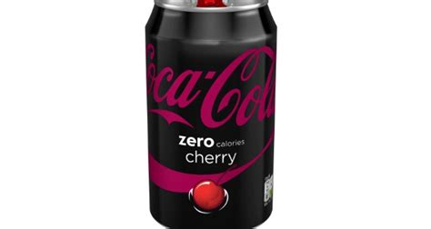 Cherry Coke Unveils Designer Cans by Coca Cola Zero Cherry Unveiled In Single Pack Format