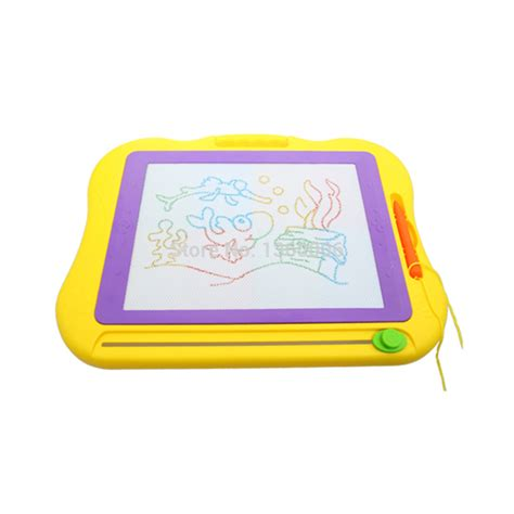 doodle pad drawing holy plastic magnetic drawing board set sketch