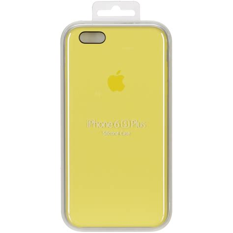 Iphone 6 Plus 6 Plus S Silicone Yellow apple silicone iphone 6s plus yellow smartphone