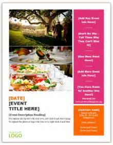 free flyer templates for word catering flyer template save word templates