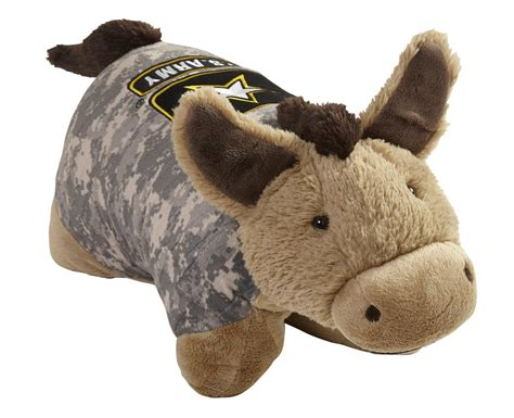 Army Pillow Pet by Operation Pillow Pet Us Army Camo Mule Large 18