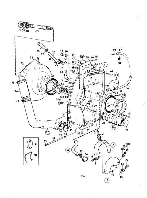 volvo penta outdrive parts diagram 6 best images of volvo penta trim parts diagrams volvo