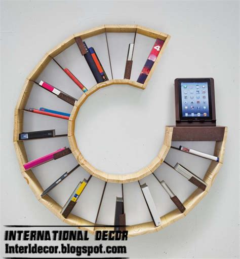 15 creative bookshelves and modern modular designs ideas