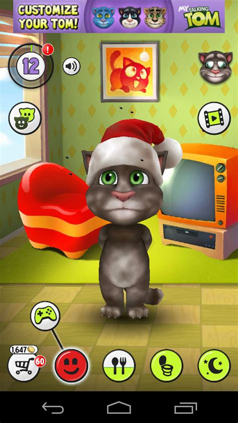 My Tom my talking tom a android mechbit in