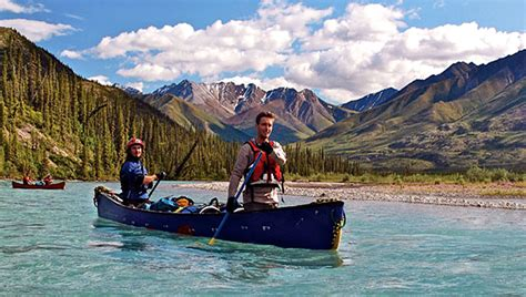 yukon canoes wilderness adventures canadian canoe kayak and dog