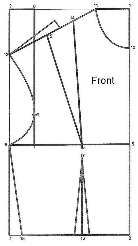 pattern drafting lessons how to draft a basic bodice pattern patterns tutorials