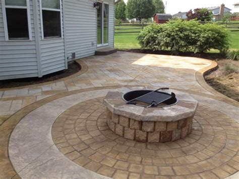 Backyard Cement Patio Ideas Concrete Patio Ideas For Small Backyards Landscaping Gardening Ideas