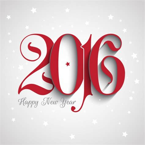 new year in 2016 new year 2016 background with ornamental numbers vector
