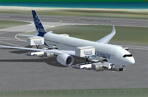 house colors airbus a350 800 for fsx