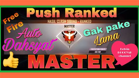 fire push rank master  fire indonesia bocil