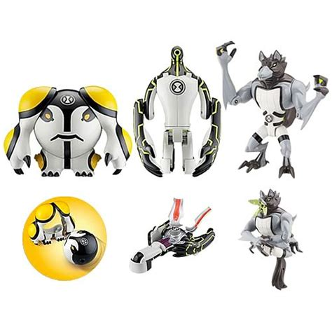 Figure Ben 10 18 ben 10 metamorfigures figure wave 1 bandai