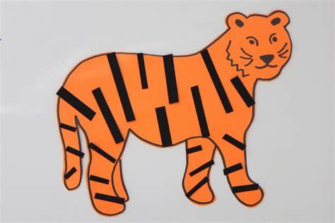 tiger crafts for toddler approved sticky tiger craft for