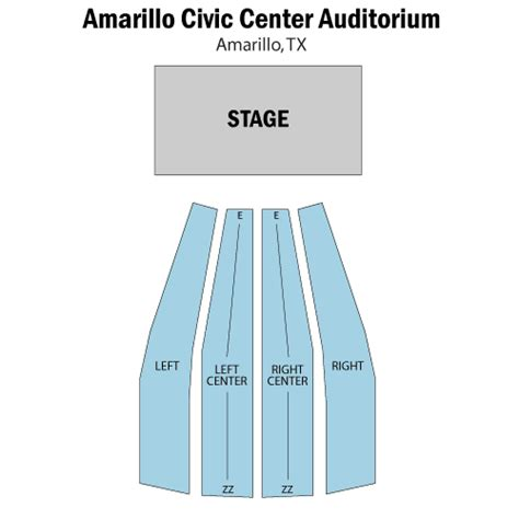 amarillo civic center seating chart world entertainment september 24 tickets
