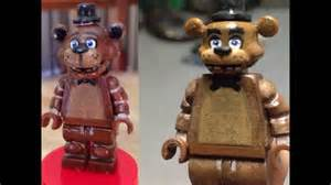 Lego five nights at freddy s custom freddy minifigure youtube