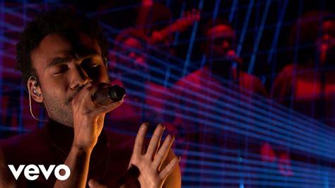 childish gambino live childish gambino redbone live from the tonight show
