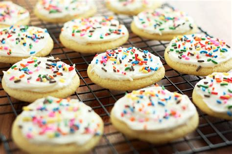 Cookie Cooking cornbread sugar cookies with honey butter frosting